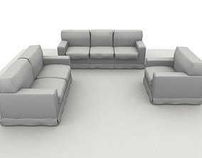 America Sofa Composition 3D model