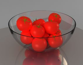tomatoes basket 3D