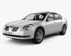 3D model Nissan Maxima SL 2004