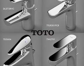 3D model toto faucets collection 1