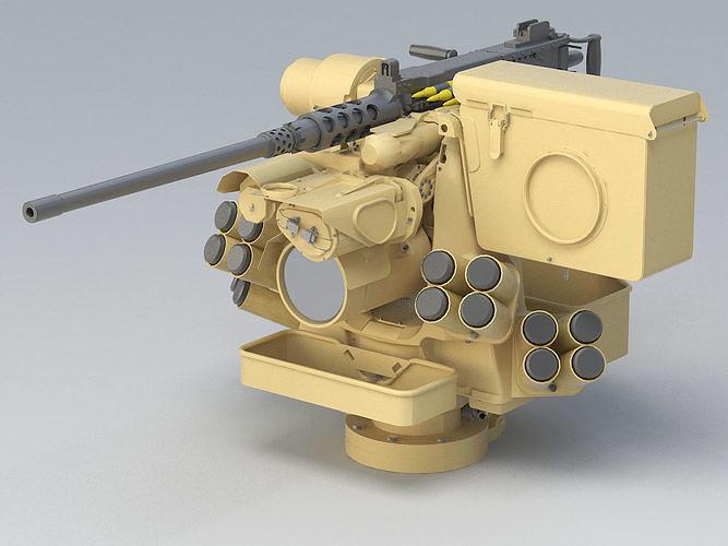 kongsberg protector 151 rws  3d model max obj mtl 3ds fbx c4d lwo lw lws 1