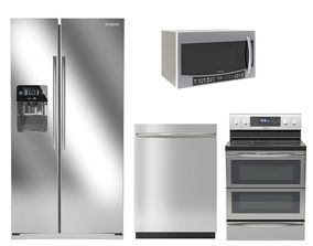 3D Samsung kitchen appliances