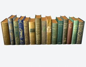 Books Pack 2 3D model