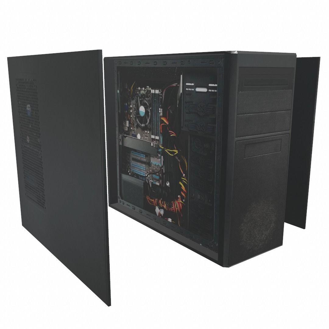 Desktop PC computer processor