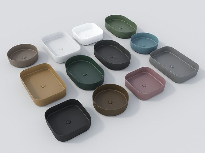 Ceramica Cielo Shui.Ceramica Cielo Shui Comfort 3d Model