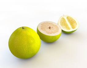3D model Pomelo fruit