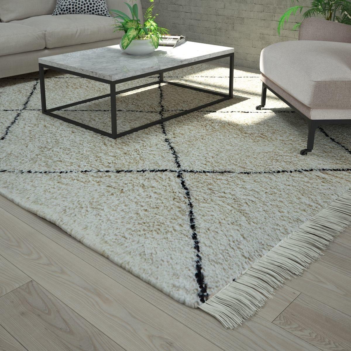 Verbazingwekkend 3D Beni Ourain rug | CGTrader JY-72