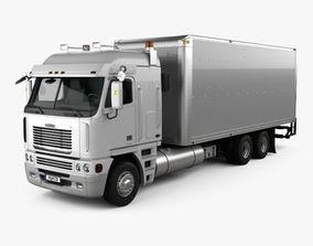 Freightliner Argosy Box Truck 2003 3D