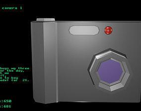 3D asset Low poly camera 1