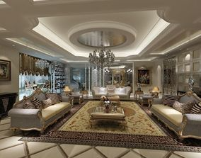 Classical Style Interior 3D model