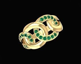 3D print model 1474 Chains Ring