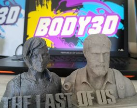 3D print model THE LAST OF US - Statue