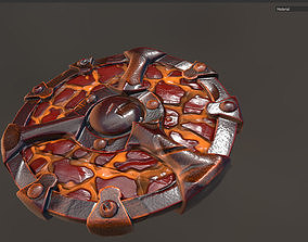 3D model Shield Cartoon Low Poly