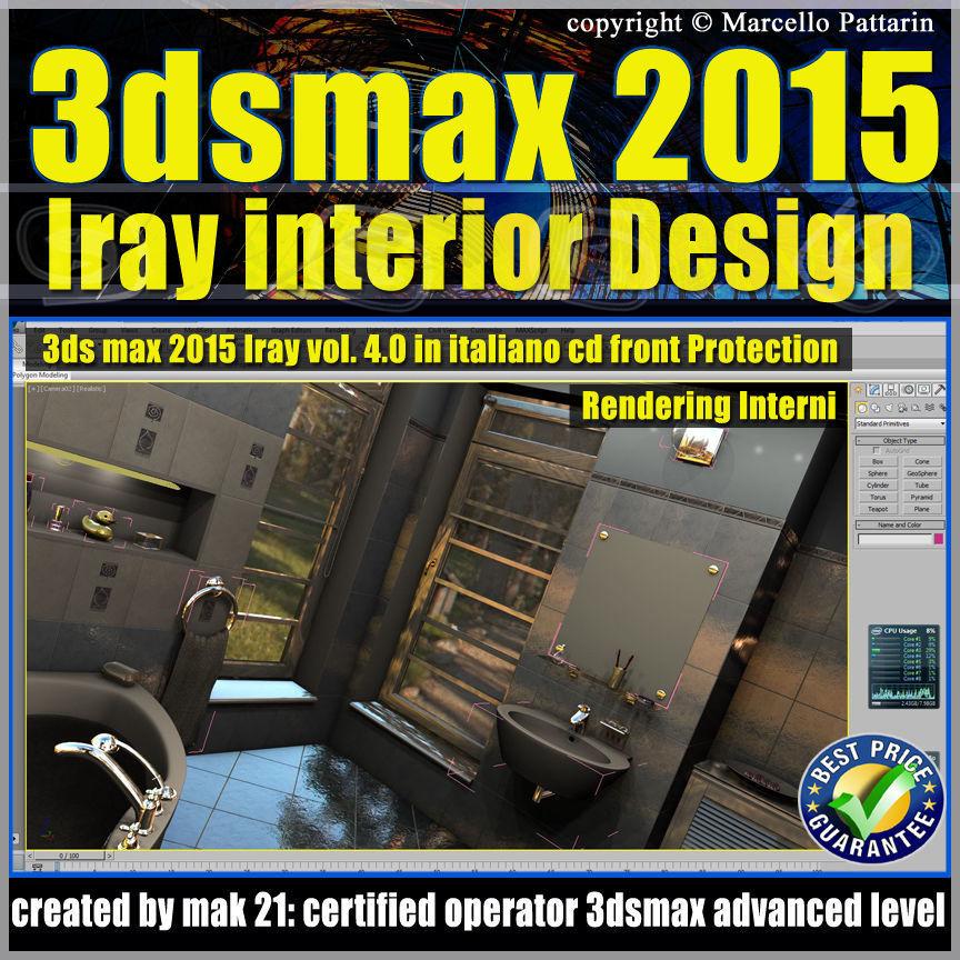 3ds max 2015 Interior Design Volume 4 Cd Front