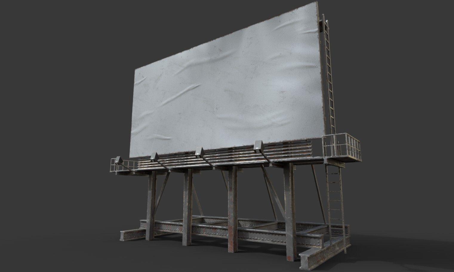 Rooftop Billboard model