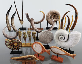Collection of Sculptures 3D
