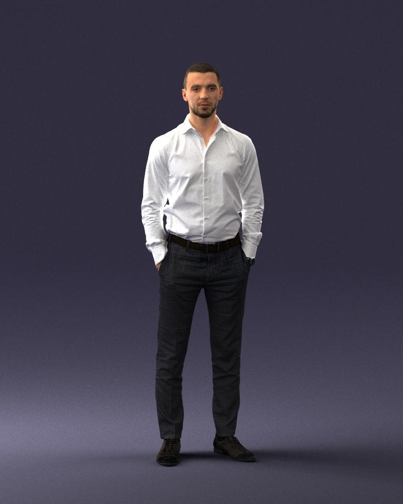 Office man 0116-1