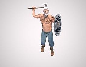 Viking 3D animated