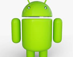 Android Mascot 19266 3D Model