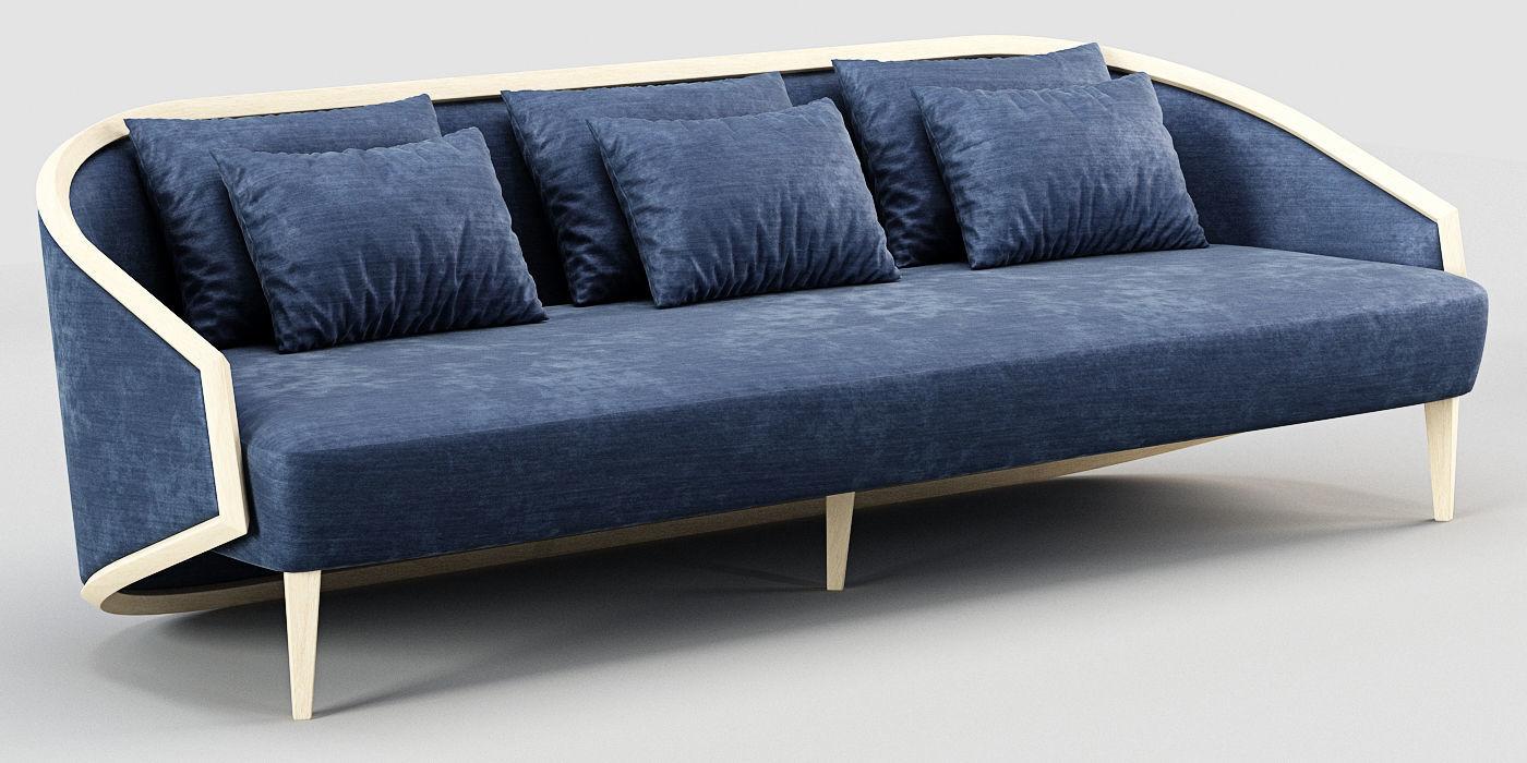 Marc De Berny Kokoon Sofa 3d Model Cgtrader