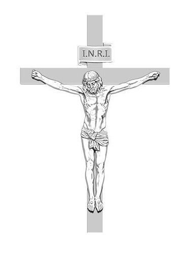 jesus on the cross 3d detailed realistic 3d model obj mtl stl 1