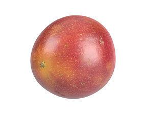 Photorealistic Passion Fruit 3D Scan 3