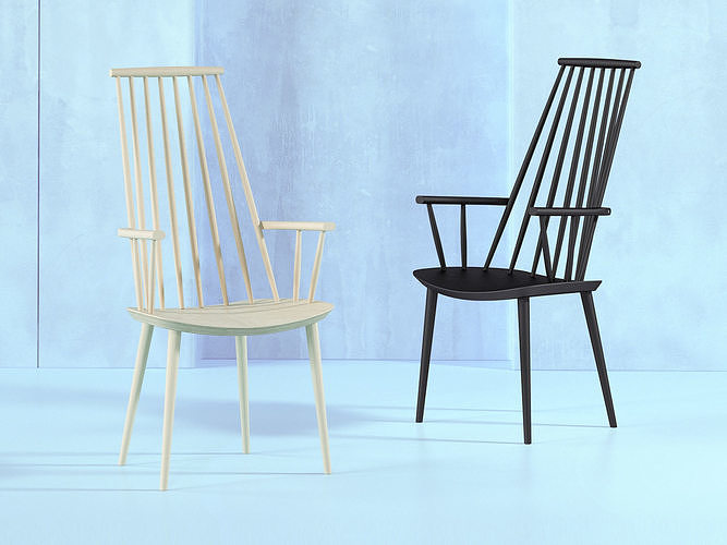 j110 chair 3d model max obj mtl fbx c4d skp mxs 1