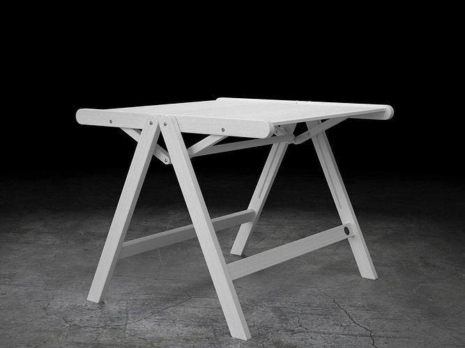 rex coffee table 3d model max obj mtl fbx c4d skp mxs 1