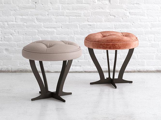 richard coffee table soft 55 3d model max obj mtl fbx c4d skp mxs 1