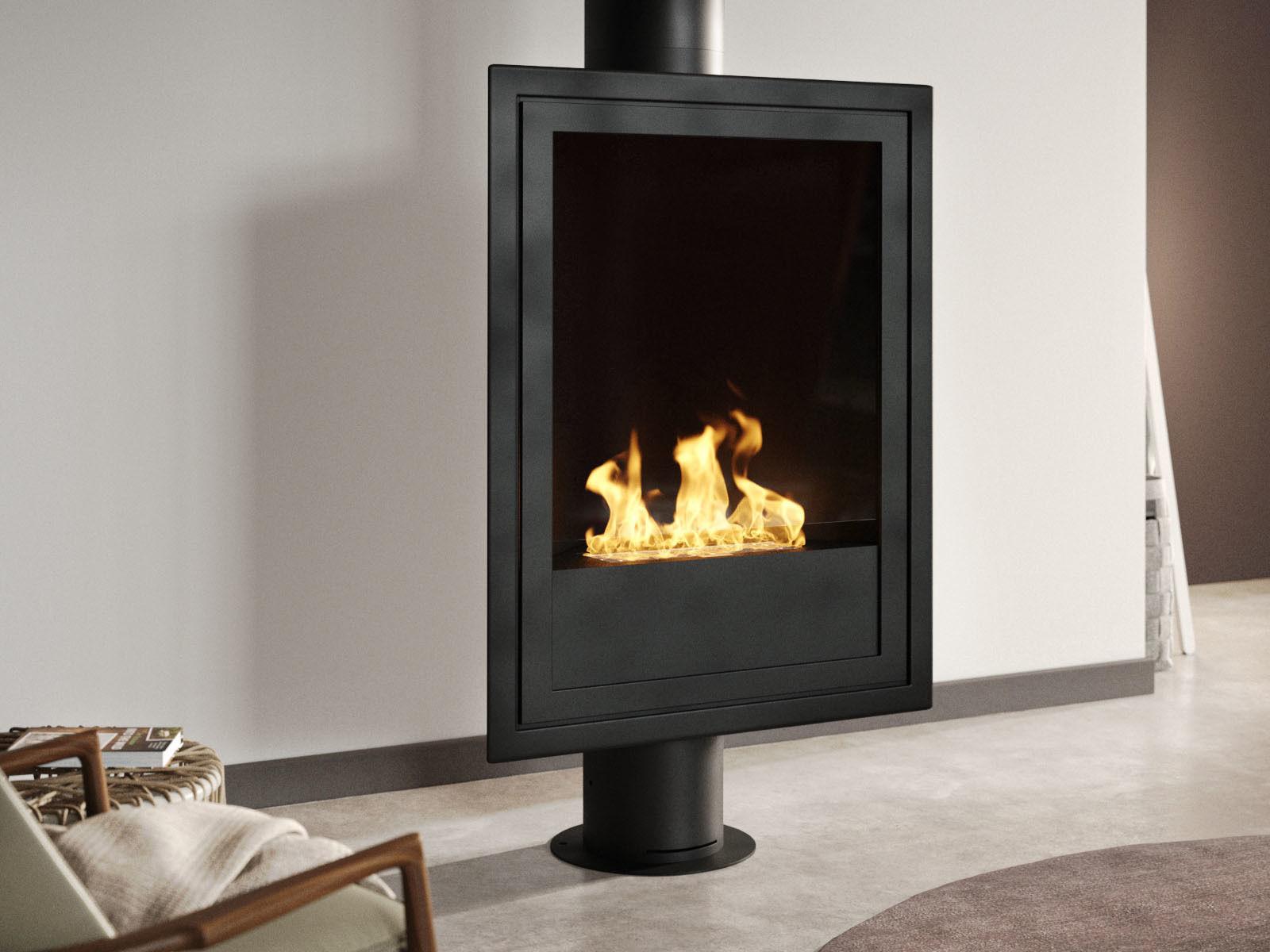 Eurofocus Gas Fireplace