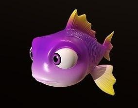3D rigged Asset - Cartoons - Animal - Fish