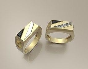 Signet ring 6 3D printable model
