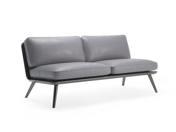 spine lounge 1712 sofa 3d model max obj mtl fbx c4d skp pdf 1