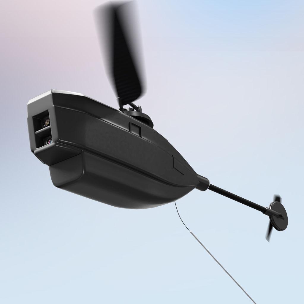 3D Render Black Hornet 2 PRS PD 100 Nano UAV Micro Drone
