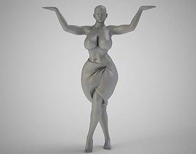 Fat Girl Dancing 3D print model