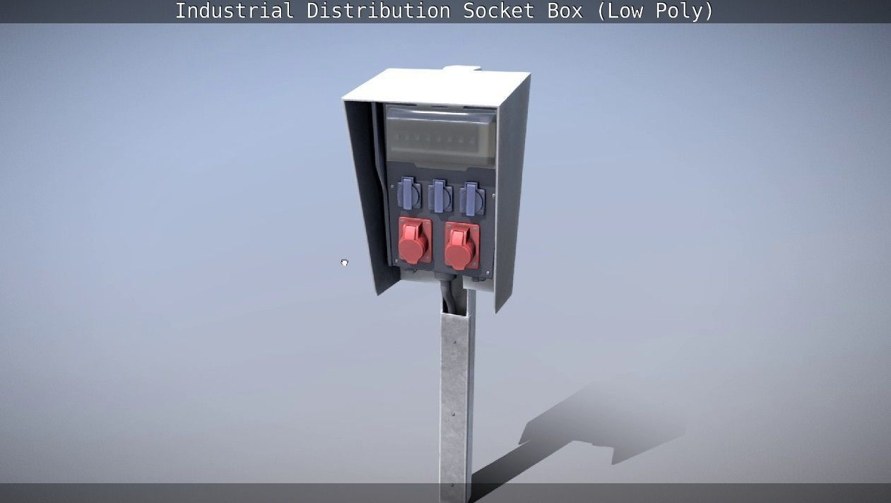 Industrial Distribution Socket Box