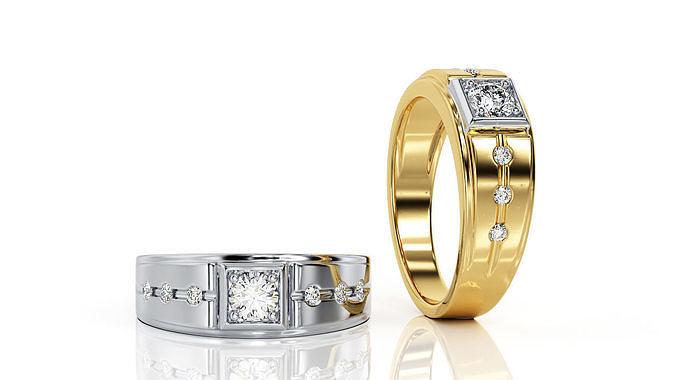 ring r f 0101 3d model obj mtl 3ds stl 3dm 1