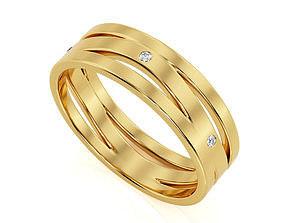 Ring Band R BA 0026 3D print model