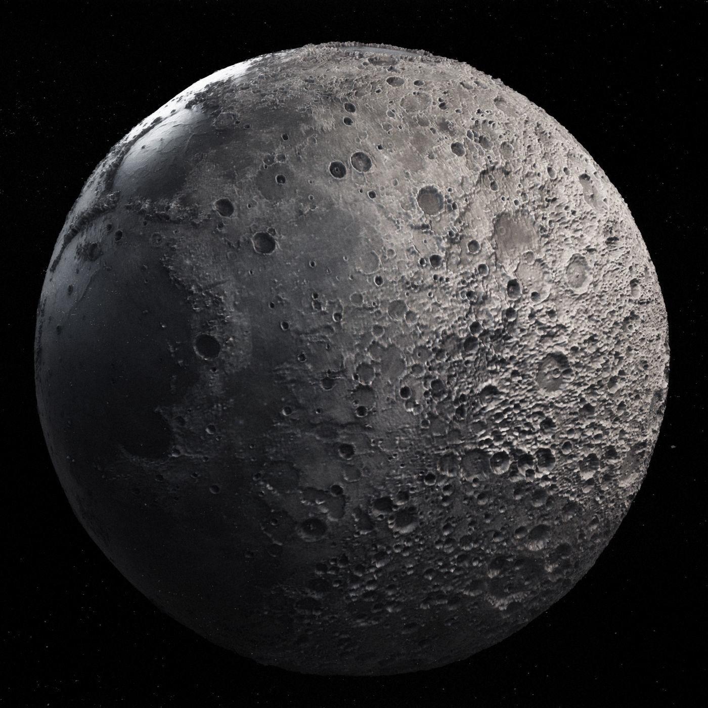 Moon High Poly