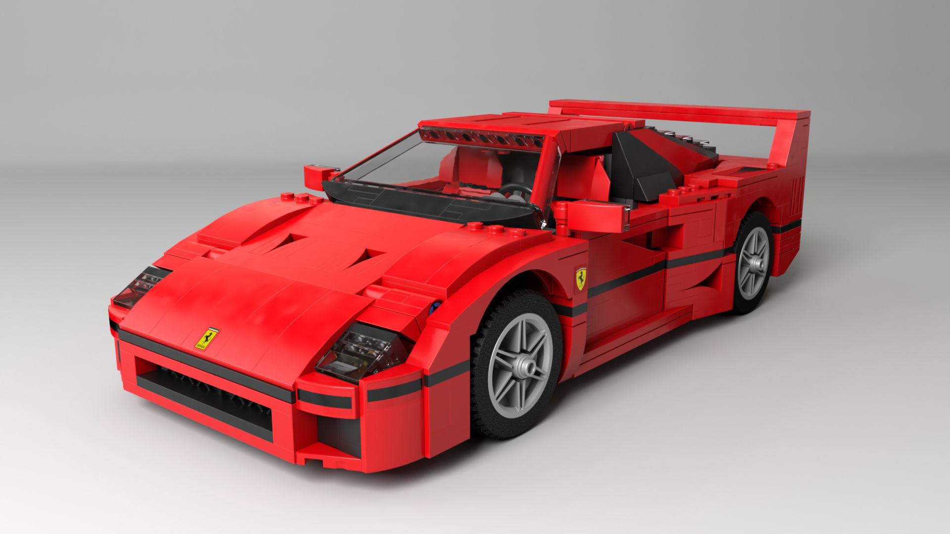 Lego Creator Ferrari F40 | 3D model