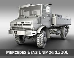 mercedes benz unimog u1300l 3d model