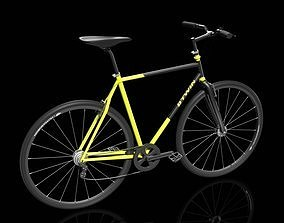 Bike Bicycle Btwin 3D