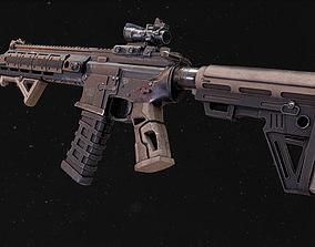 weapon AR-15 3D asset