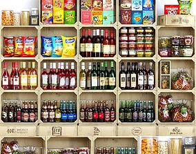 kitchen StoreShelf 3D model
