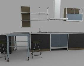 Kitchen set desing 3D