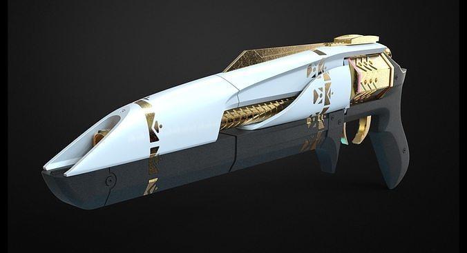 midnight coup - destiny 3d model stl 1