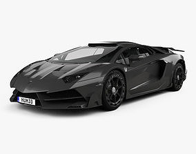 3D Lamborghini Aventador LP 750-4 Mansory Superveloce JS1