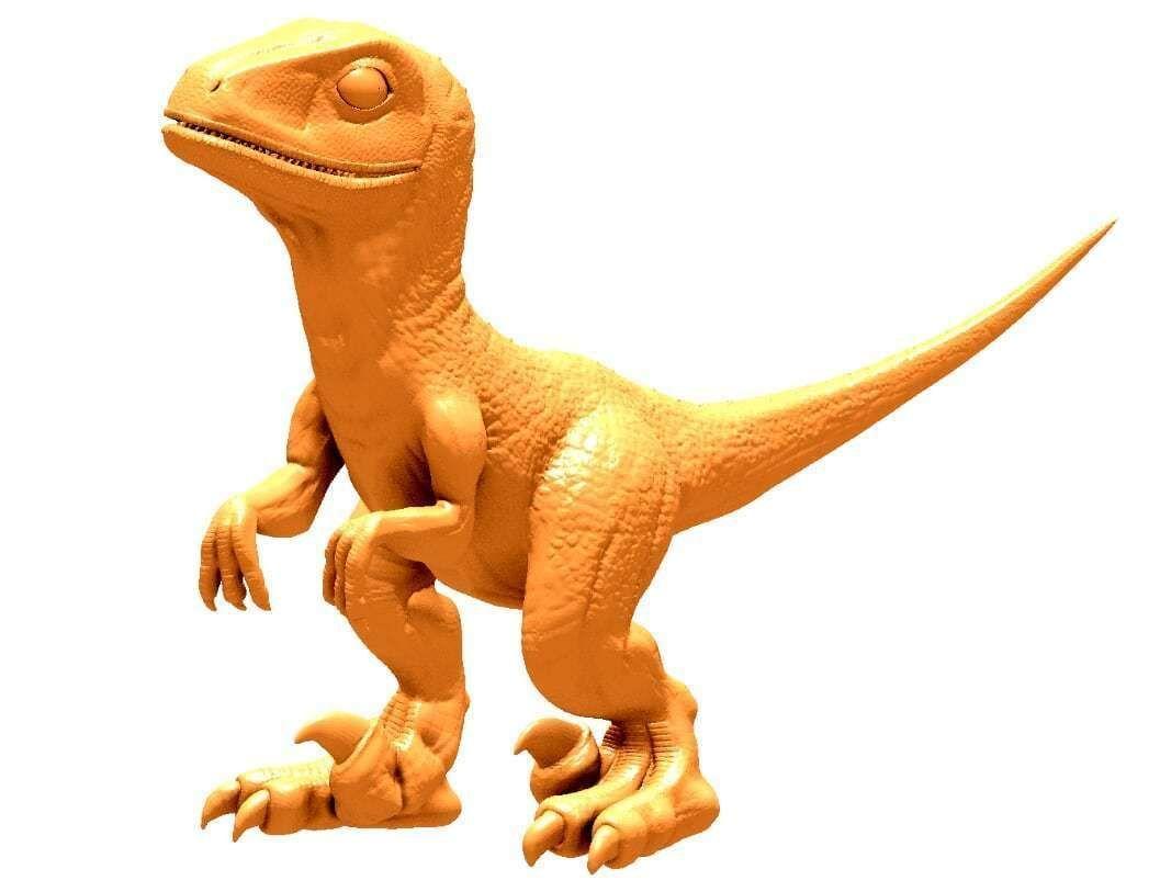 Baby Raptor Model for 3D Print
