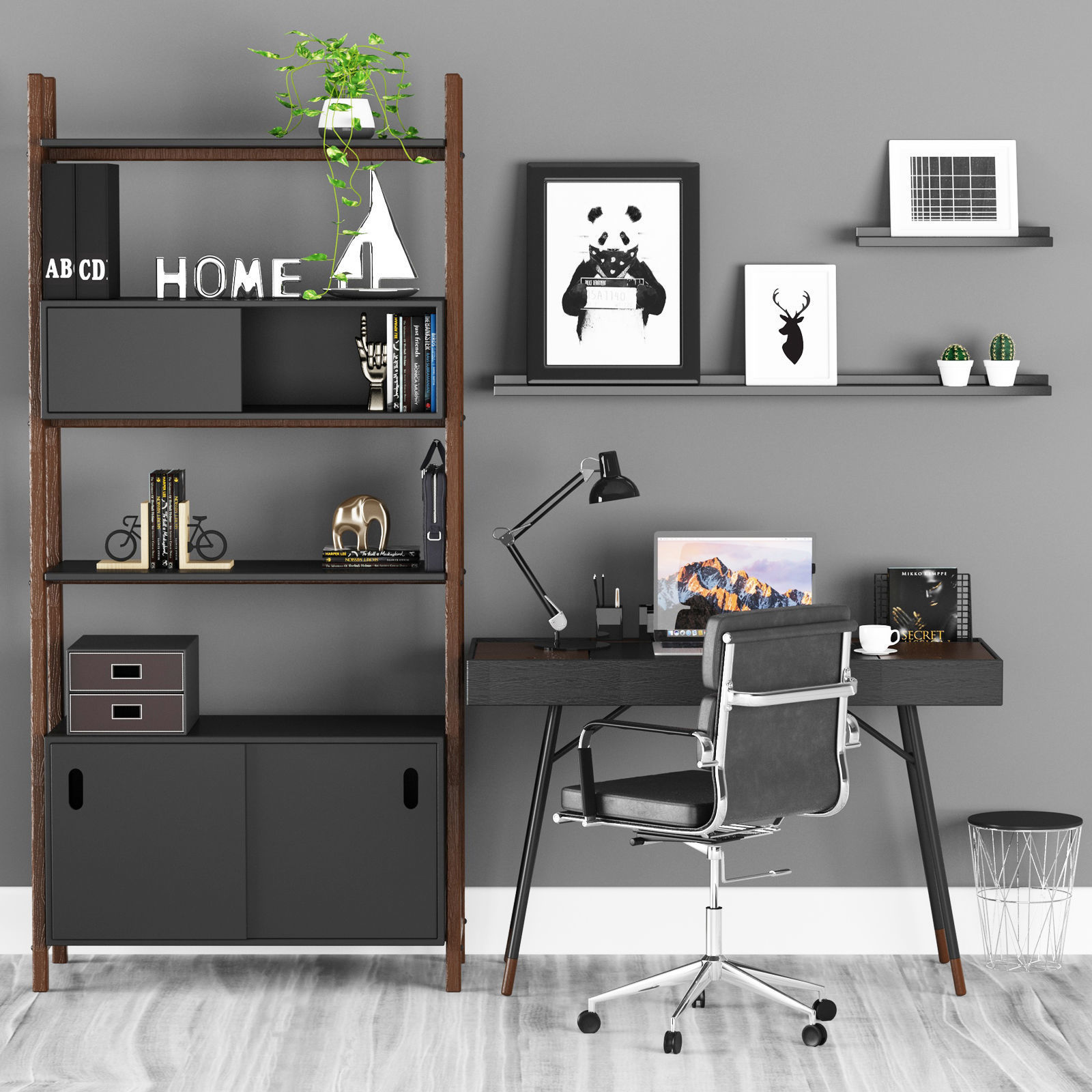 Office Cupertino Boconcept 3d Model
