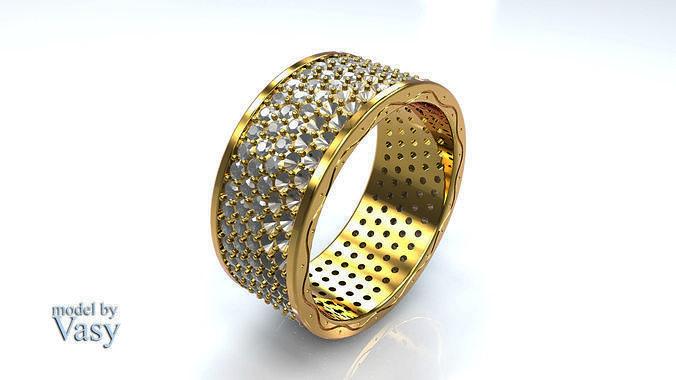 Ring 215 gems by Vasy